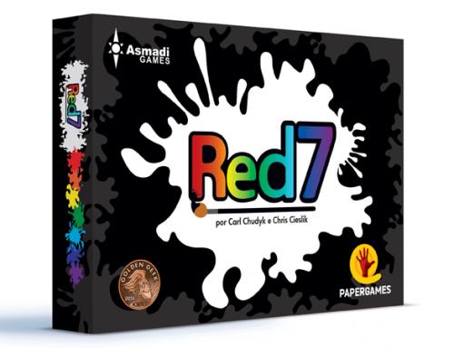Lançamento do Red7 pela PaperGames