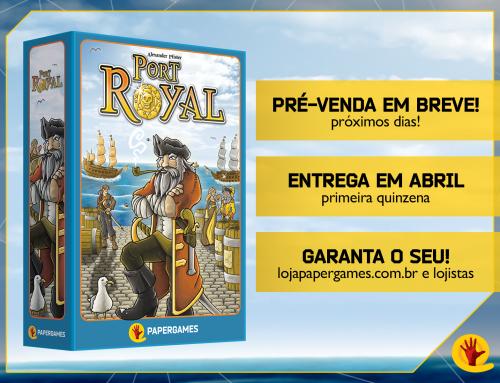 Port Royal – Lançamento no Brasil pela PaperGames
