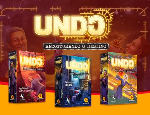 Chegou a Série UNDO – Lançamento da PaperGames!