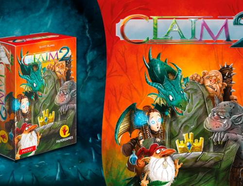 Chegou Claim 2! O novo jogo da linha pocket da PaperGames