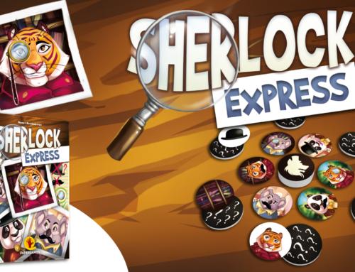 Desvende o mistério em Sherlock Express!
