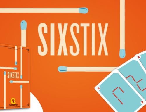 Chegou SixStix!