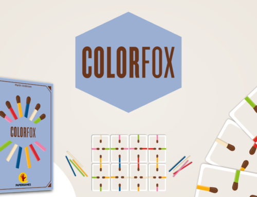 Conheça ColorFox: O primeiro jogo da nova Linha Matchbox da PaperGames!